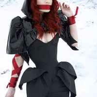 Artifice Products - PVC mini hooded Capelet