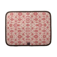 Just Peachy Floral Pattern Planner from Zazzle.com