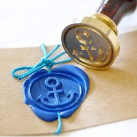 Anchor Wax Seal Stamp x 1