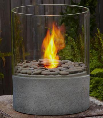 "Modesto 15""H Fire Column - Firepits And Fireplaces - Firepits And Heaters - Outdoor 