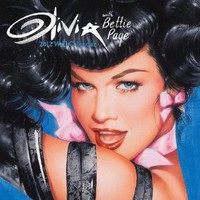 Olivia/bettie Page 2012 Wall Calendar