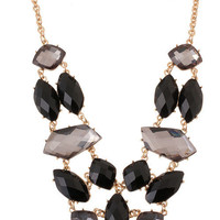 Smokey Mirror Necklace – Modeets