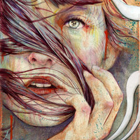Opal Stretched Canvas by Michael Shapcott | Society6