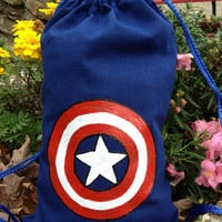 Children's Captain America Backpack
