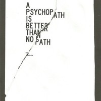 Psychopath Art Print by Wordboner | Society6