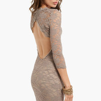 Oh My Darla Lace Dress $37