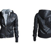 Punk Black Bomber Jacket