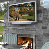 The 46 Inch Weather-Resistant Outdoor HD Television - Hammacher Schlemmer