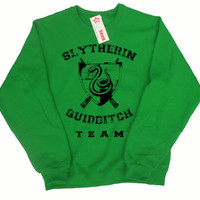 Slytherin Quidditch Team Pullover Sweater
