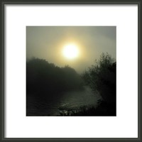 Hafren River In Morning Framed Print By Alexandra Cook