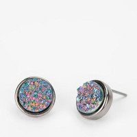 Druzy Stone Earring