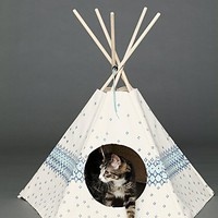 Free People Printed Cat Teepee