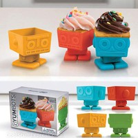 Yumbots - Robot Shaped Cupcake Molds