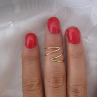 Geometric Knuckle Ring