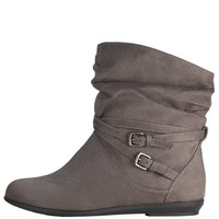 Womens - Lower East Side - Women&#x27;s Sammi Strap Boot - Payless Shoes