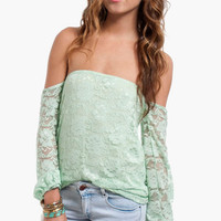 Dantelle Off Shoulder Top $36