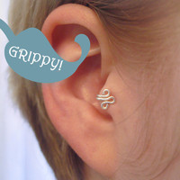 Tragus Cuff GRIPPY Silver