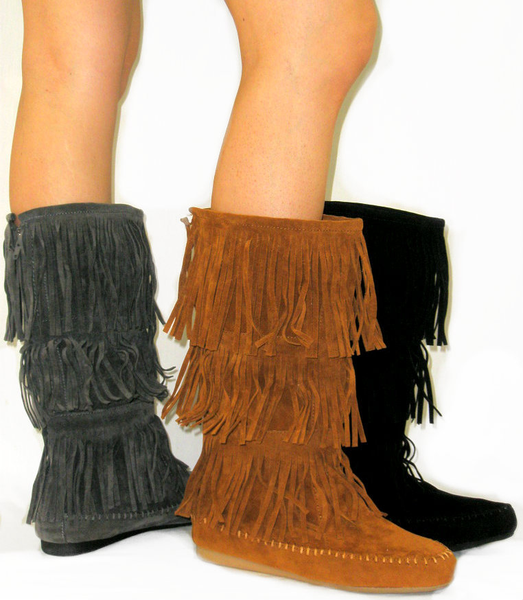 indian faux suede moccasin from 121 hoo 121 on ebay
