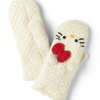 Crochet Hello for Me Mittens | Mod Retro Vintage Gloves | ModCloth.com
