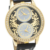 baroque-face-reptile-watch BLACKGOLD - GoJane.com