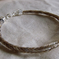 Forever Horse Hair Bracelet by OutlawsParadise on Etsy