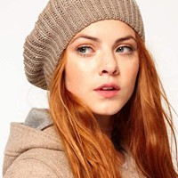 Oasis Sequin Beret at asos.com