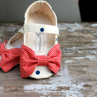 Baby Shoes- Soft Soled- Sailor May- Sizes 1-4