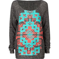 FULL TILT Navajo Screen Womens Sweatshirt 188993100 | sweatshirts &amp; hoodies | Tillys.com