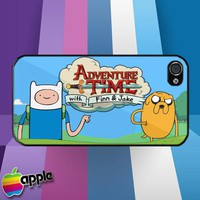 Adventure Time With Finn and Jake iPhone 4 or iPhone 4S Case