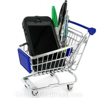 Shopping Cart Desk Organizer