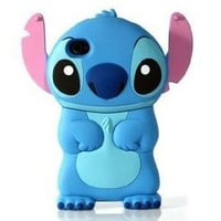 Amazon.com: A-Sonic Disney 3d Stitch Movable Ear Flip Hard Case Cover for Iphone 4/4s: Cell Phones & Accessories
