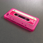 Neon Cassette Tape iPhone 4 /4S Case Vintage 3D Silcone Cover