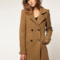 Maison Scotch | Maison Scotch Tailored Wool Mix Coat at ASOS