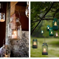 Oh Lovely Day: {Lovely Masons} Mason Jar Lanterns - StumbleUpon