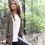 she wears, safari stretch jacket + firework white tee
