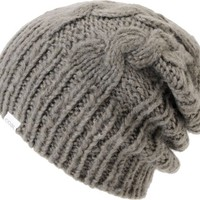 Coal Girls Parks Grey Cable Knit Beanie
