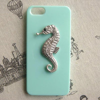 Steampunk Seahorse hard case For Apple iPhone 5 case cover