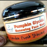 Fresh Pumpkin Glycolic Anti Aging Botanical Face Mask - 4.5 oz Vegan