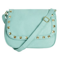 Crystal Punk Crossbody Bag | Shop Accessories at Wet Seal