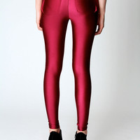 Cindy Pocket Back High Waisted Disco Pants