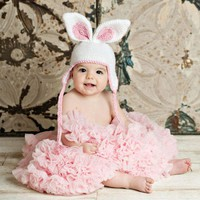 Pdf Easter Bunny Crochet Hat Patter.. on Luulla