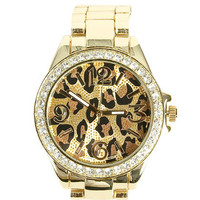 Leopard Metal Watch | Shop Accessories at Wet Seal