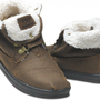 Highlands Brown Fleece Women&#x27;s Botas | TOMS.com