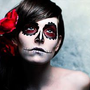 Dia de los Muertos Make up