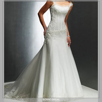 All Bridal Wedding Shop: The Top wedding corset bridal ball gown dress