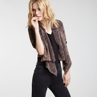 STONEWASHED 2-WAY JACKET | Mary Meyer | Fabricly