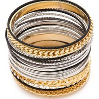 Adia Kibur Mixed Bangle Set | SHOPBOP
