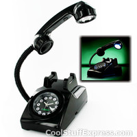 Retro Iclassic 1960€�S Phone Alarm Clock Lamp