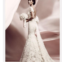 Reserved listing for  biteconfections custom make Lace wedding dress final balance