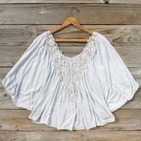 Wildwind Crochet Blouse, Sweet Bohemian Clothing
